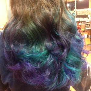 artistic hair color