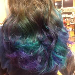 artistic hair color